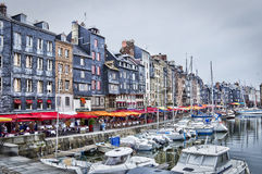 Old port of Honfleur, Normandy Stock Photography