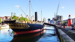 Old Port In Rotterdam. Stock Images