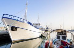 Old Port, Limassol, Cyprus Royalty Free Stock Photography
