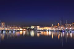 The old port of Marseille Royalty Free Stock Photo