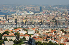 Old port of Marseille Royalty Free Stock Photo