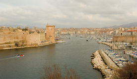 Old port in Marseille, France Stock Image