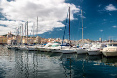 Old Port of Marseille Stock Images