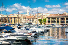 Old Port of Marseille Stock Image