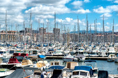 Old Port of Marseille Stock Photography