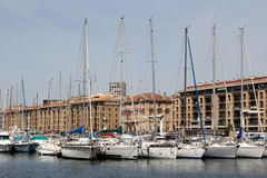 The Old Port in Marseille, France. Royalty Free Stock Photos