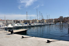 The Old Port in Marseille, France. Stock Photo