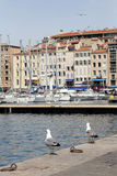 The Old Port in Marseille, France. Royalty Free Stock Images