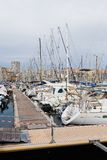 The Old Port of Marseille. Stock Images