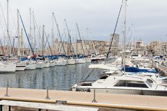 The Old Port of Marseille. Royalty Free Stock Images
