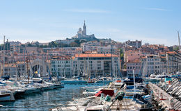 The Old Port of Marseille Royalty Free Stock Image