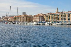 Old port of Marseilles. Provence, France Royalty Free Stock Image