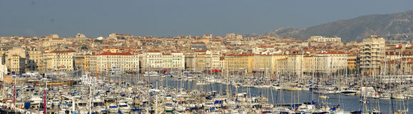 The old port of Marseilles Stock Photos