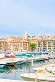 Old port of Marseilles, Provence. France Stock Photos