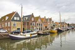 Old port in Monnickendam Stock Photography