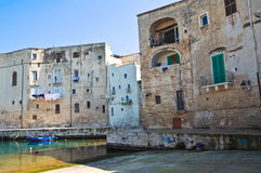 Old port. Monopoli. Puglia. Italy. Royalty Free Stock Images