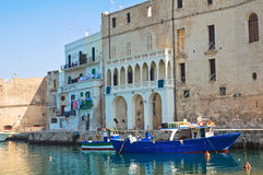 Old port. Monopoli. Puglia. Italy. Stock Image