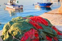 Old port of Monopoli. Puglia. Italy. Stock Photo