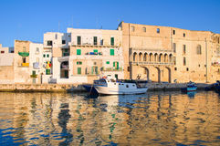 Old port of Monopoli. Puglia. Italy. Royalty Free Stock Photo