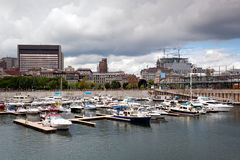 Old port in Montreal Royalty Free Stock Photography