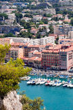 Old port of Nice stock photo