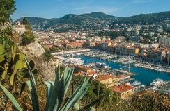Old port of Nice Stock Image