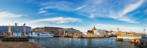 Free Old Port Pier Architecture In Helsinki, Finland Stock Image - 126827591