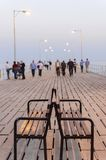 Old Port pier, Limassol, Cyprus royalty free stock photo
