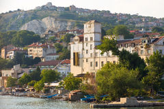 Old port quay in Balchik Royalty Free Stock Images