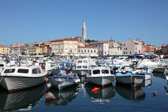 The old port of Rovinj Royalty Free Stock Photos