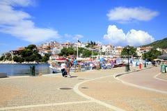 Old Port, Skiathos Town, Greece. Stock Images