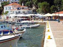 Old Port, Skiathos town, Skiathos. Royalty Free Stock Images