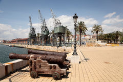 Old port of Tarragona, Spain Royalty Free Stock Photos