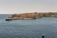 Old port of Valetta in Malta Stock Images