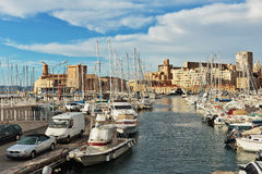 Old Port, Vieux-Port of Marseille. Royalty Free Stock Photo