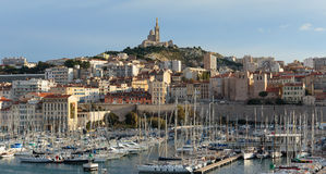 Old Port, Vieux-Port of Marseille. Stock Photography