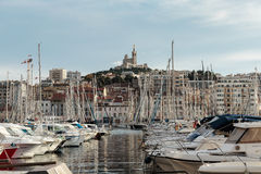 Old Port, Vieux-Port of Marseille. Stock Image