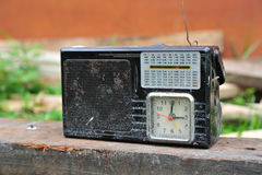 Old Portable Radio Stock Image