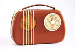 Old portable radio Royalty Free Stock Photo