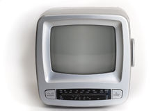 Old portable television Royalty Free Stock Photo