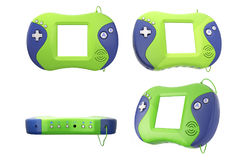 Old Portable Video Game Console. 3d Rendering Stock Images