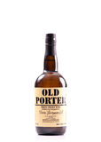 Old Porter Sweet Wine. Over White Royalty Free Stock Photo
