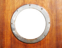 Old porthole Stock Image