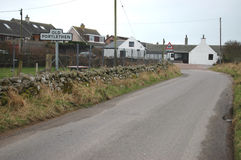 Old Portlethen, Aberdeenshire Royalty Free Stock Photography