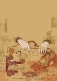 Old portmanteau stock illustration
