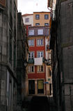 Old Porto alley Royalty Free Stock Photography