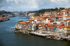 Old Porto city centre, Portugal royalty free stock photo