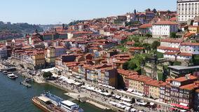 Old Porto city, Portugal stock video footage