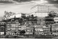 Old Porto on the hill , Portugal Stock Photography