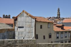 Old Porto houses Stock Images